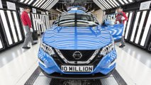 Nissan Sunderland builds its 10 millionth car