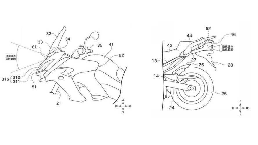 Kawasaki, un radar per evitare gli incidenti