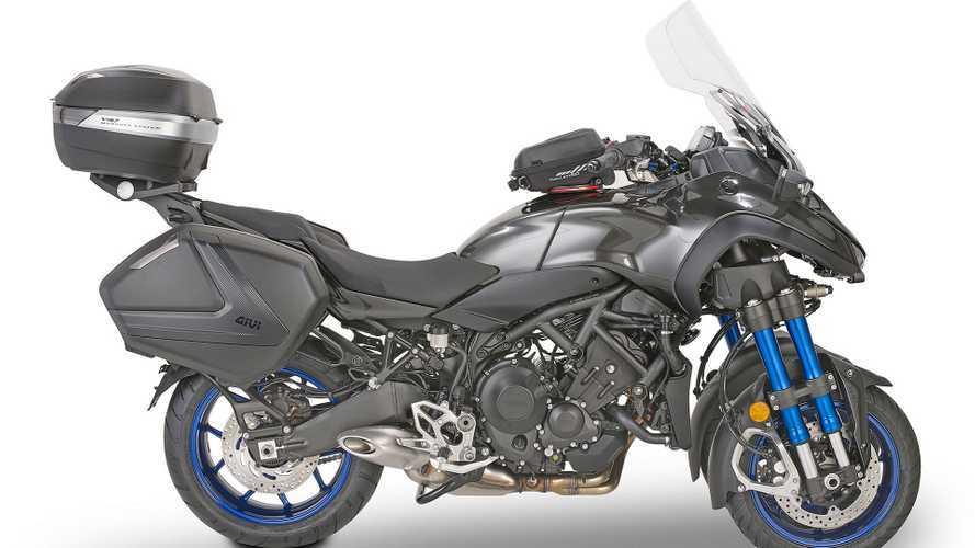 Givi presenta la linea accessori per Yamaha Niken