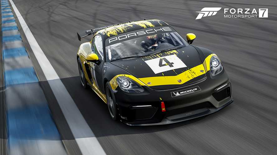 Porsche 718 Cayman GT4 Clubsport Races Into Forza Motorsport 7