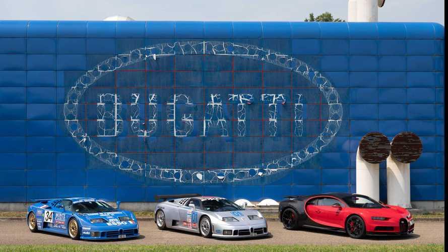 Bugatti: Die blaue Fabrik in Campogalliano