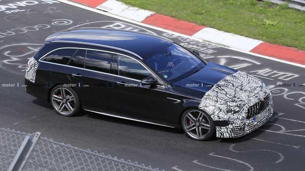 2020 Mercedes-AMG E63 Wagon facelift spy photo