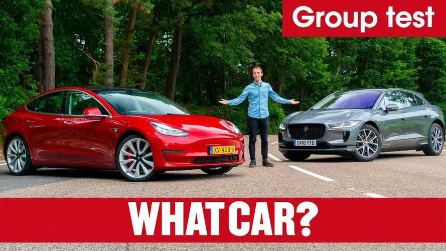 What Car? Puts Tesla Model 3 Vs Jaguar I-Pace: Video