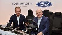 Kooperation von VW und Ford bei Elektroautos und autonomem Fahren