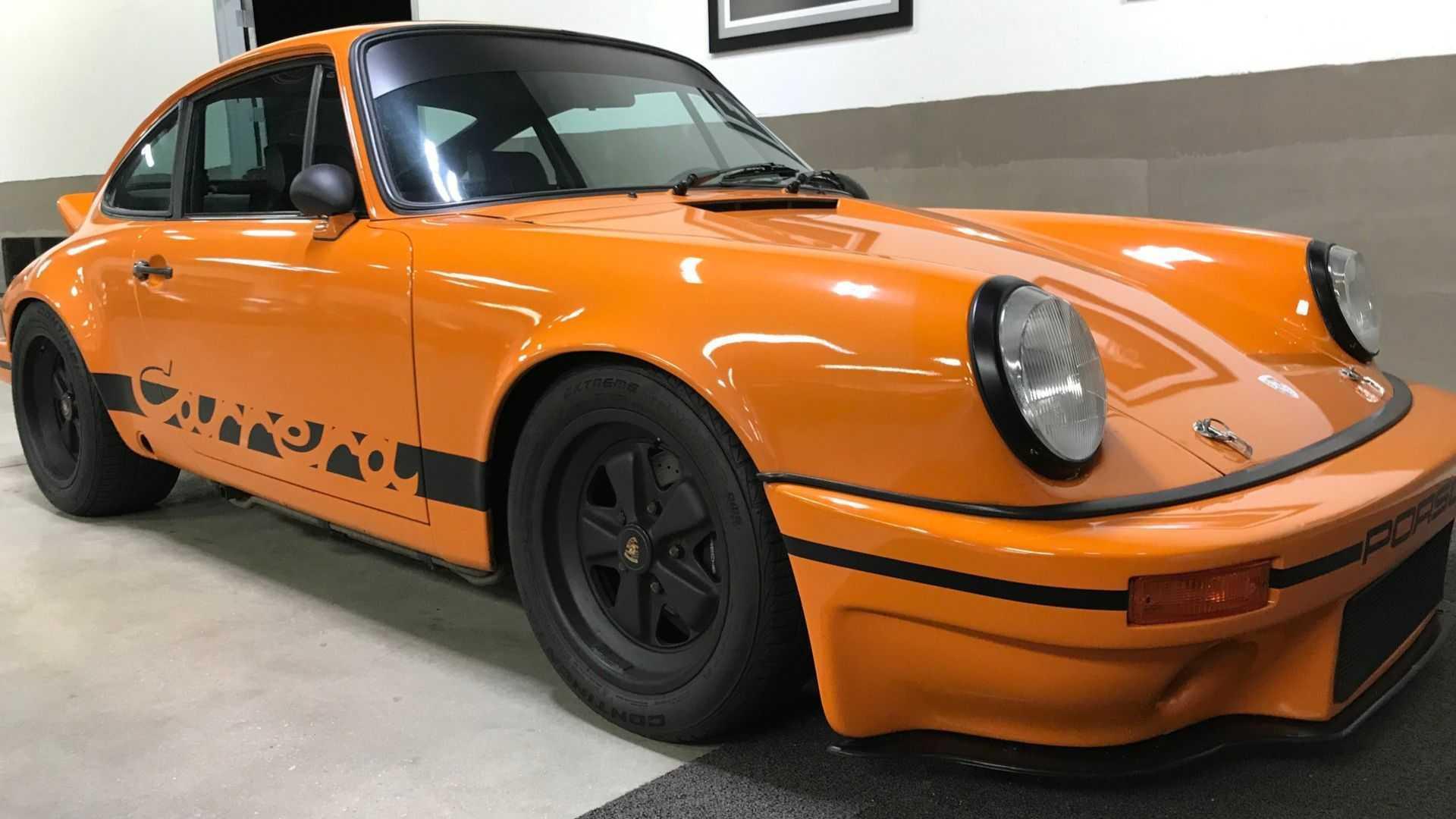 "[""Grab This Street-Legal 1982 Porsche 911 SC Outlaw Racer""]"
