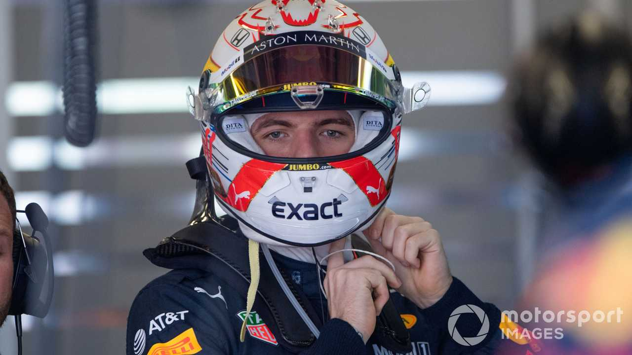 Max Verstappen at Azerbaijan GP 2019