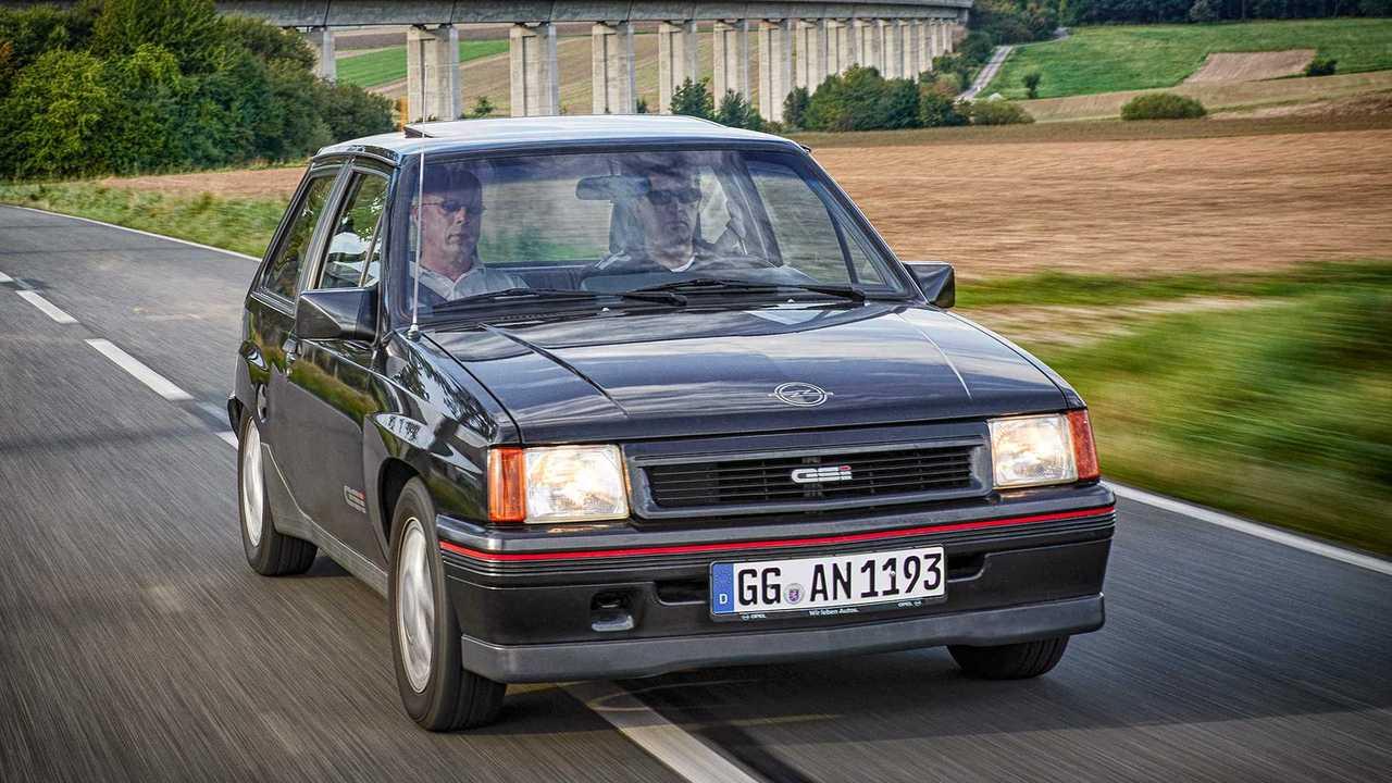 Opel Corsa Historie: Corsa A GSi (1987)