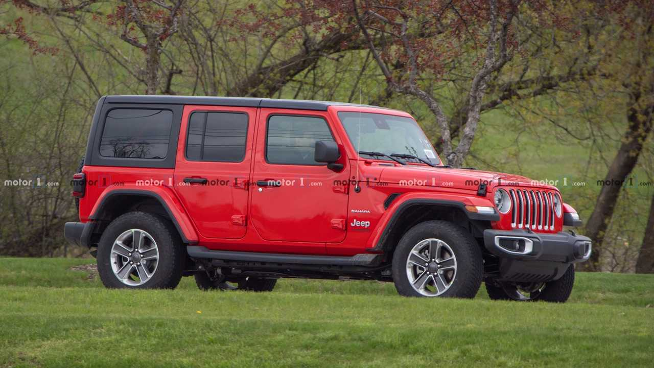 Jeep Wrangler Diesel Spy Shot
