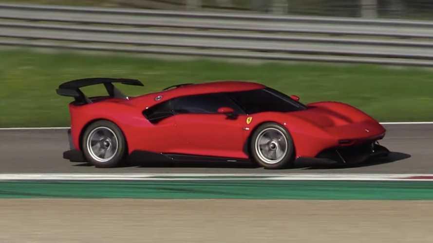 Vídeo: el Ferrari P80/C aparece por sorpresa en Monza