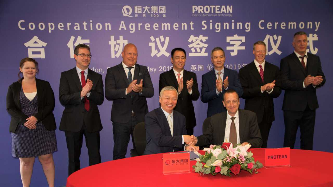 NEVS/Evergrande Protean Electric signing