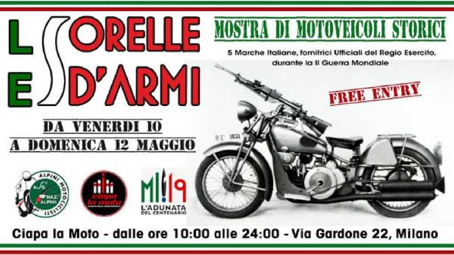 Le Sorelle d'Armi in mostra a Milano il prossimo weekend