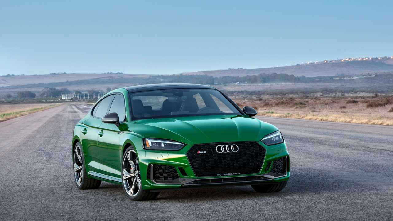 Audi RS 5 Coupé e Sportback, RS 4 Avant (2017)