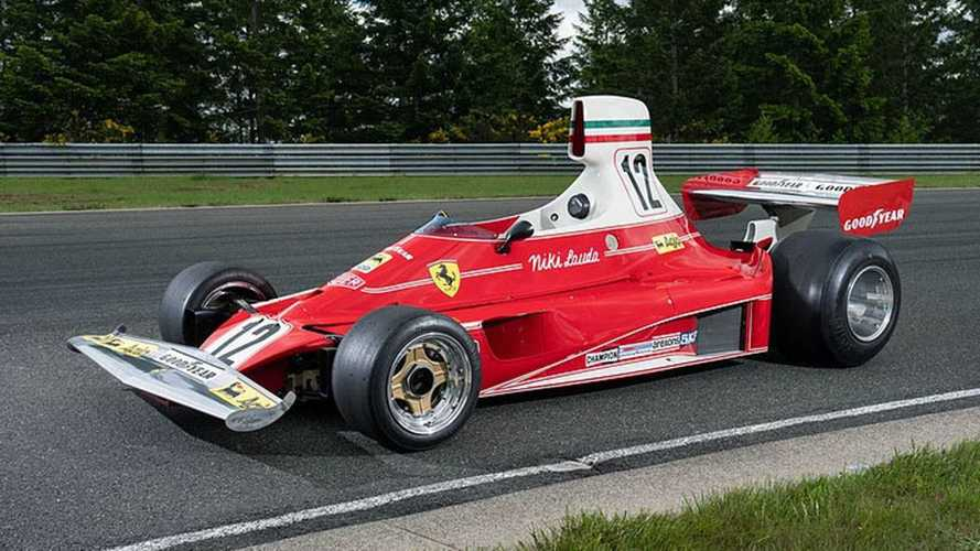 F1 Ferrari Driven By Niki Lauda Sells In Monterey