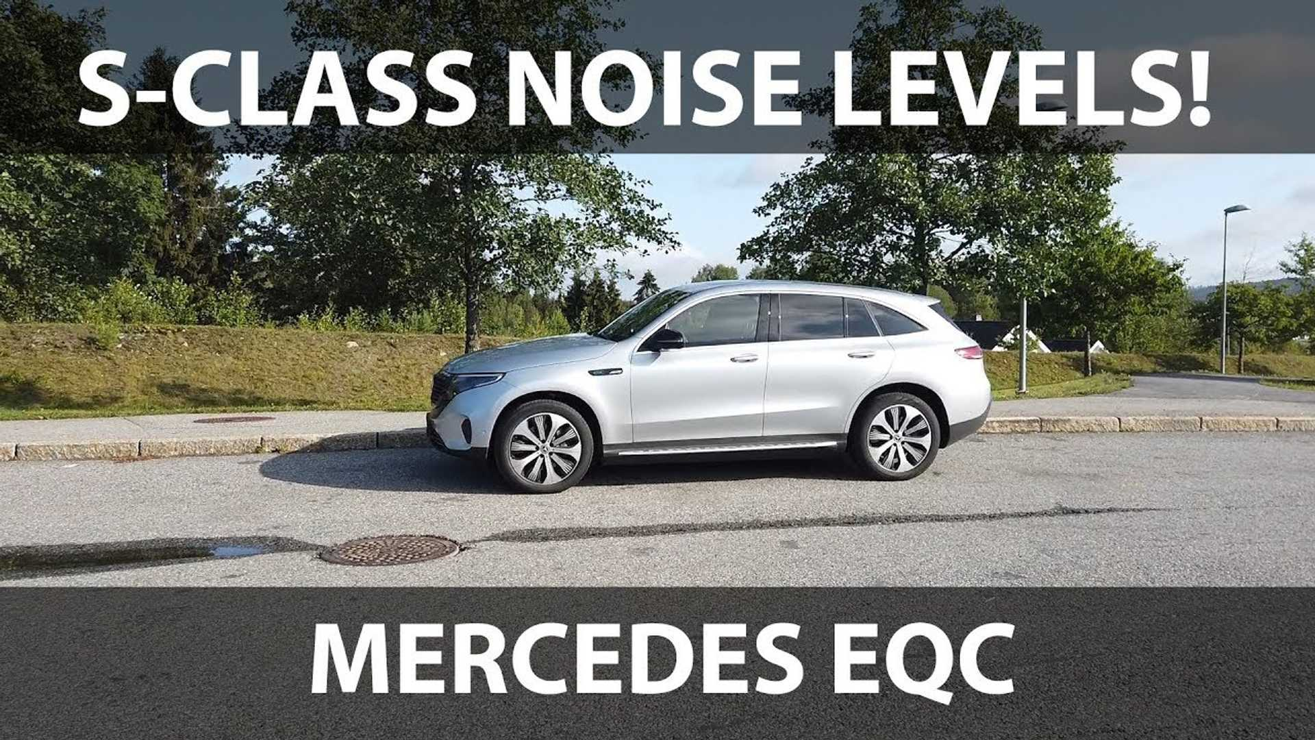 Mercedes-Benz EQC Is As Quiet As Audi e-tron, If Not Quieter