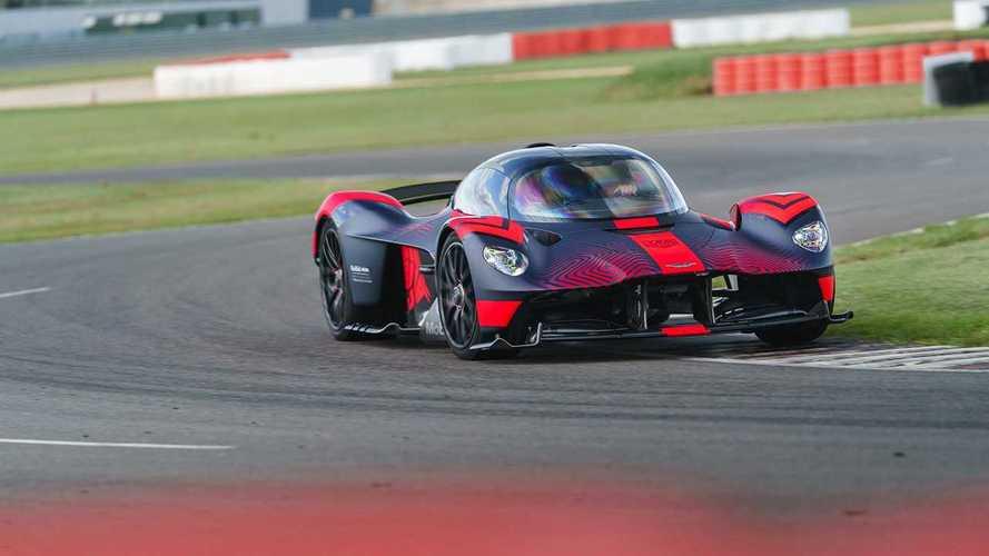 L'Aston Martin Valkyrie de course n'aura pas de système hybride
