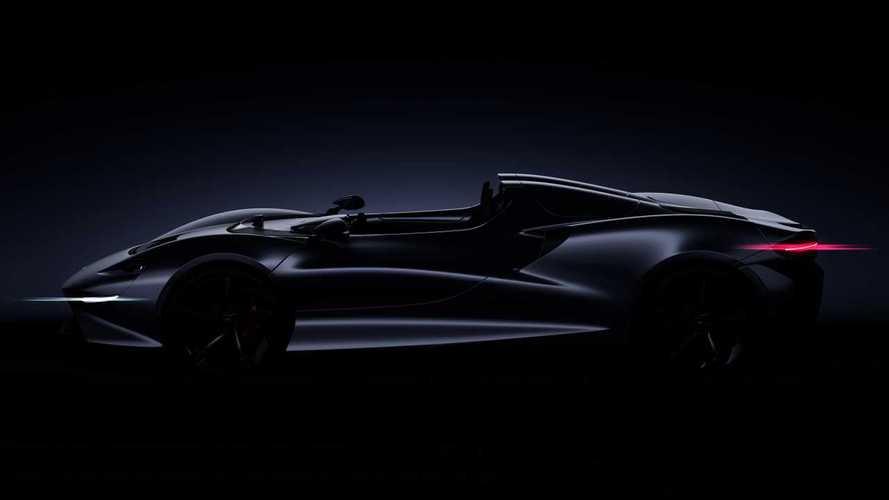 McLaren Speedster, il teaser