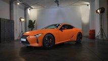 Lexus LC 500h Matte Prototype Space Orange