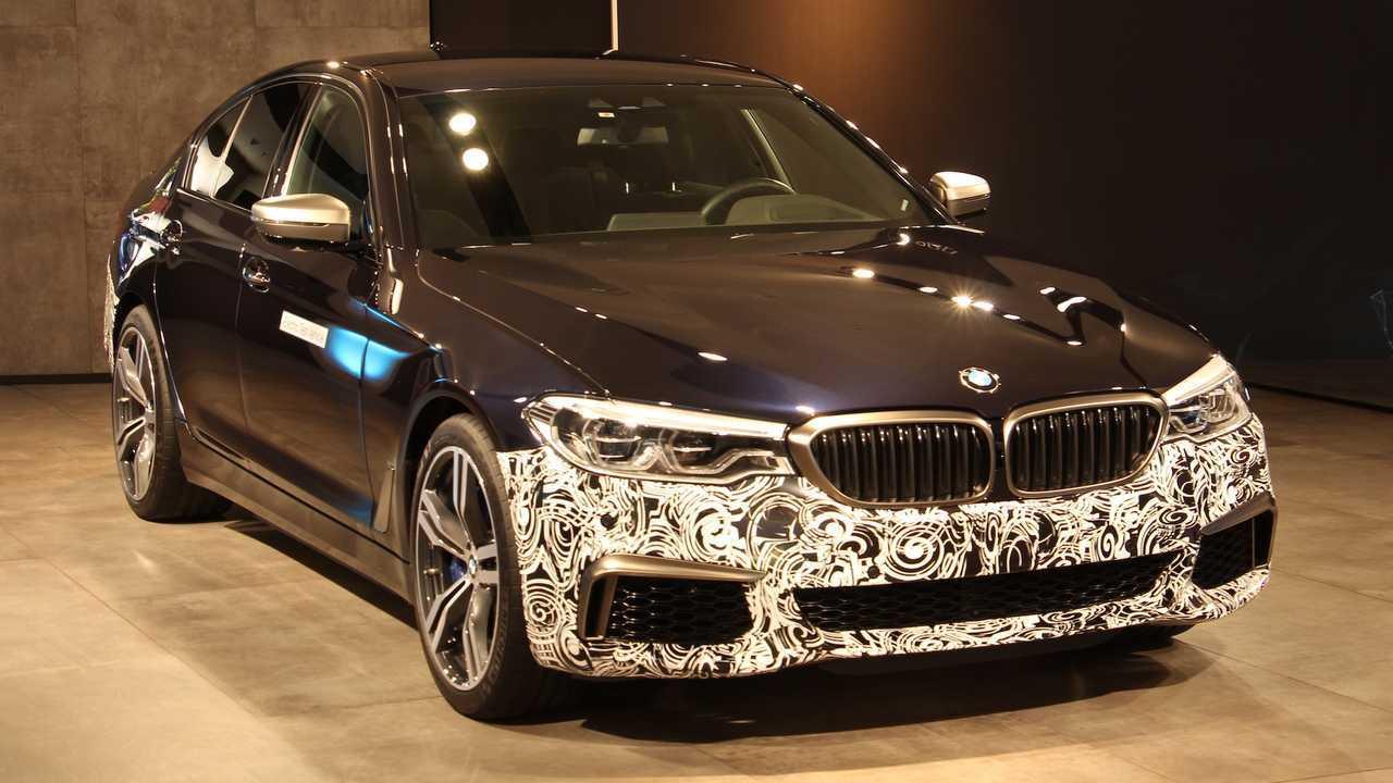 BMW 5 Series Experimental Vehicle