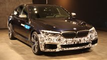 bmw 5 series electric experimental