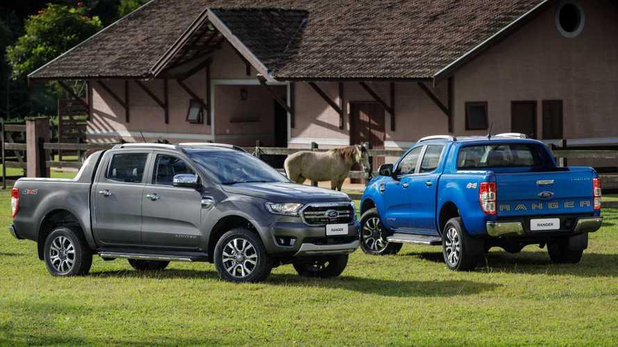 Novas Ford Ranger e Volkswagen Amarok não terão versão híbrida