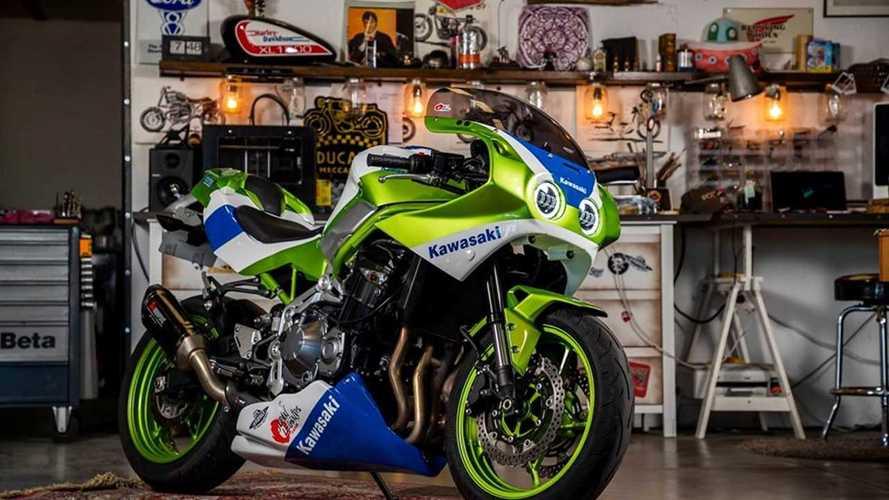 Turn Your Kawasaki Z900 Into A Super Hot ZX-7R