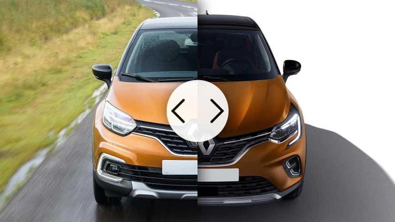 Nuova Renault Captur a confronto con la vecchia