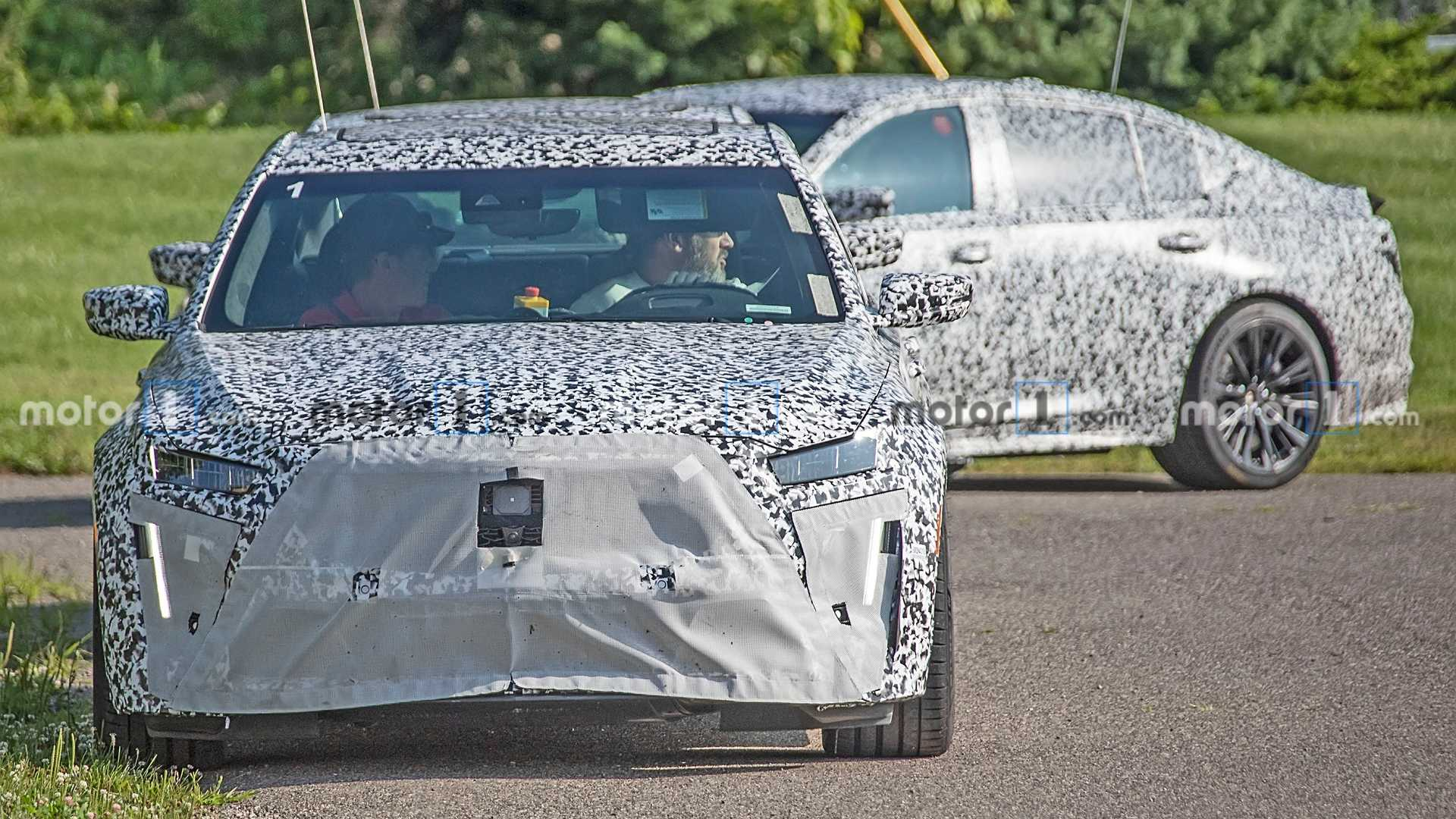 Cadillac CT5 Blackwing Spy Photo