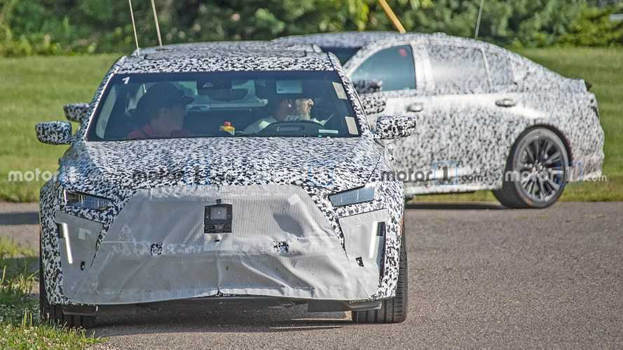 Cadillac CT5 Blackwing Spy Photos