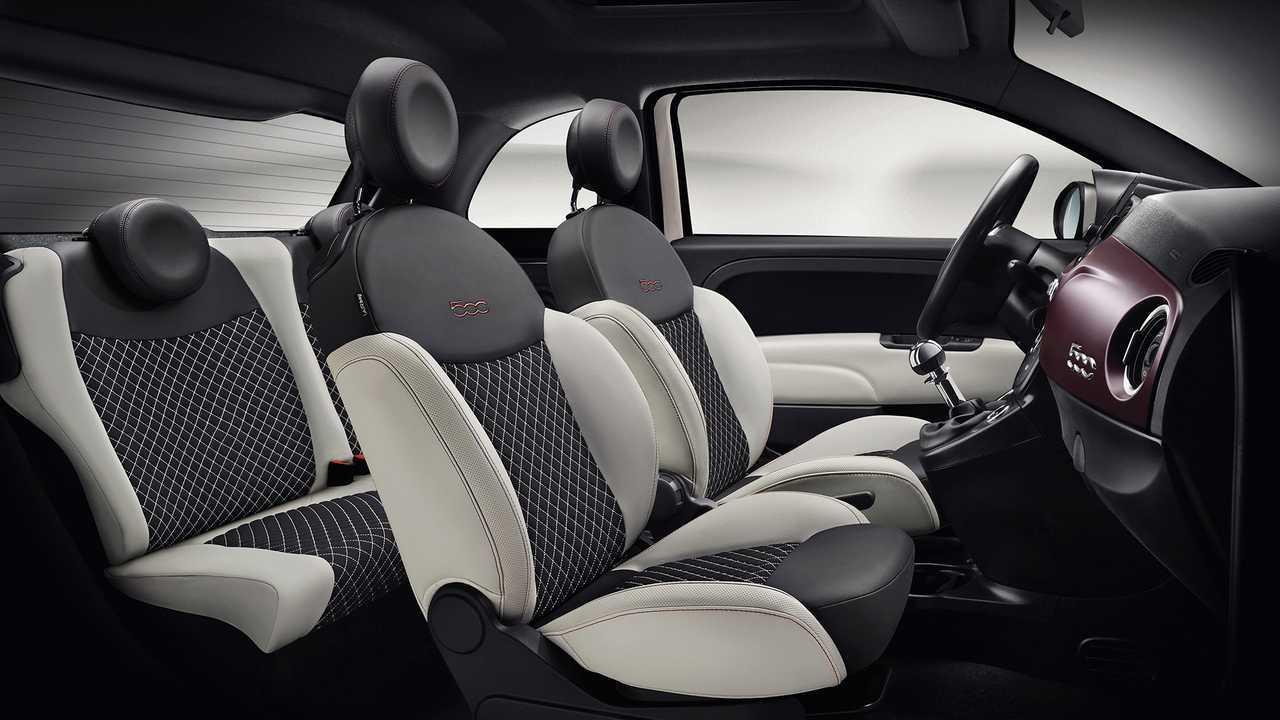 Fiat 500 sitze