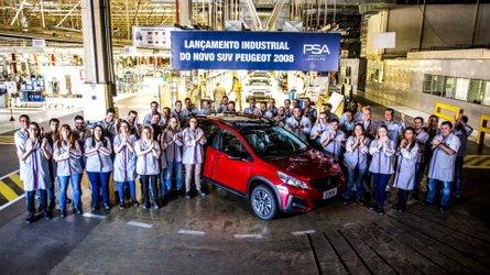 Peugeot 2008 reestilizado começa a ser produzido no Brasil