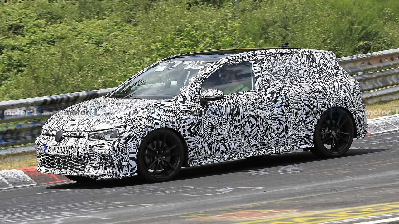 next gen vw golf gti spied for the first time update. Black Bedroom Furniture Sets. Home Design Ideas