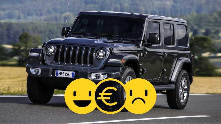Promo Business Revolution: Jeep Wrangler, perché conviene e perché no