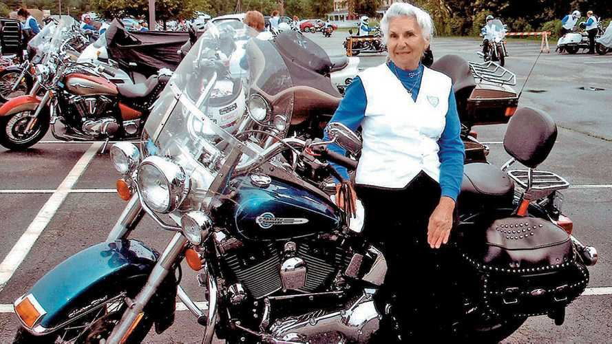 Gloria Struck: 93 Years Old And Still Riding