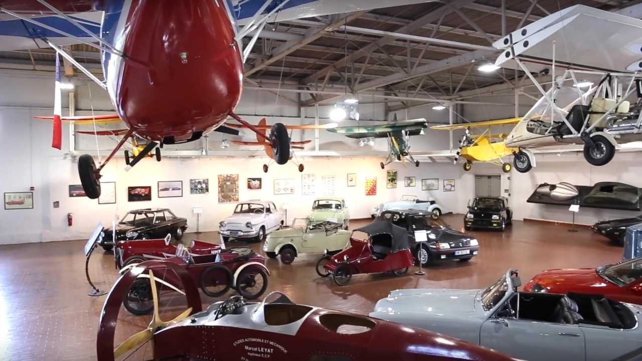 Video: A Look Inside The Lane Motor Museum In Nashville, TN