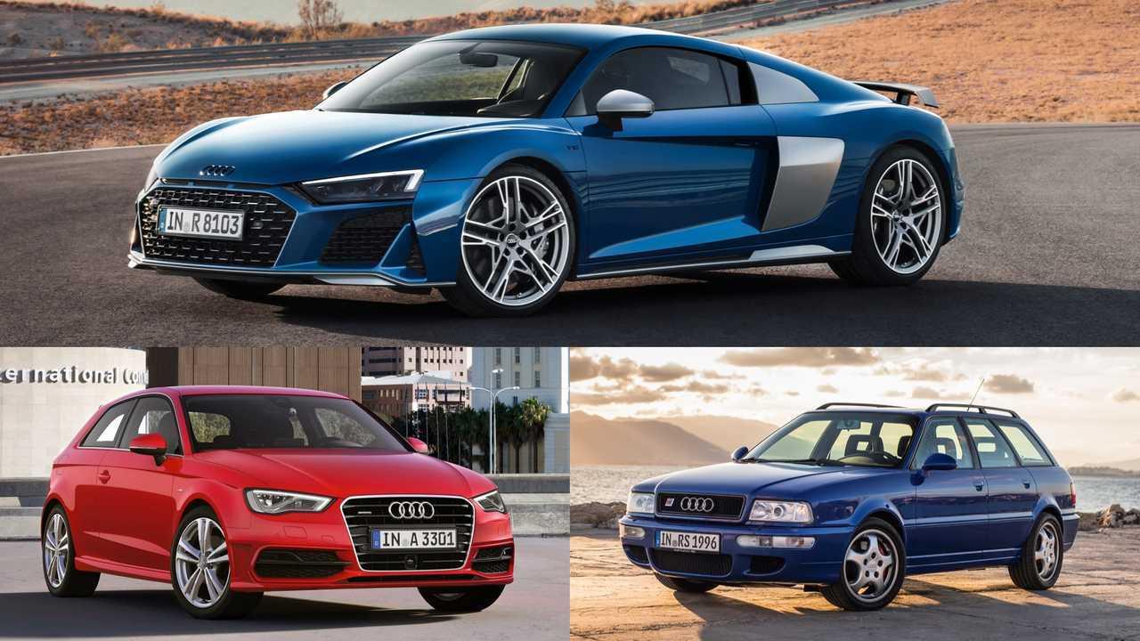 Audi: A3 Sportback, R8, RS2 Avant