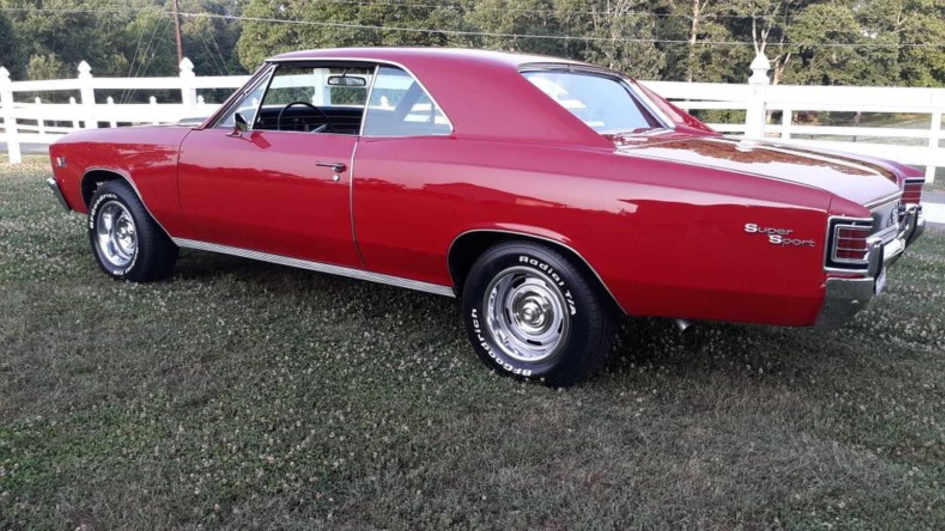 1967 Chevrolet Chevelle SS Is A Red Hot Collectible | Motorious