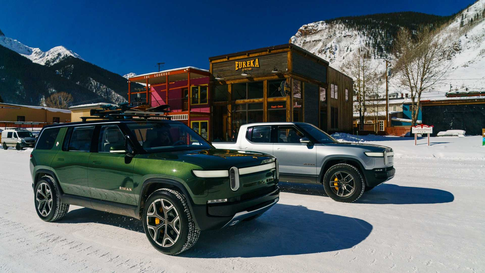 Rivian R1T & R1S Share All Components From B-Pillar Forward