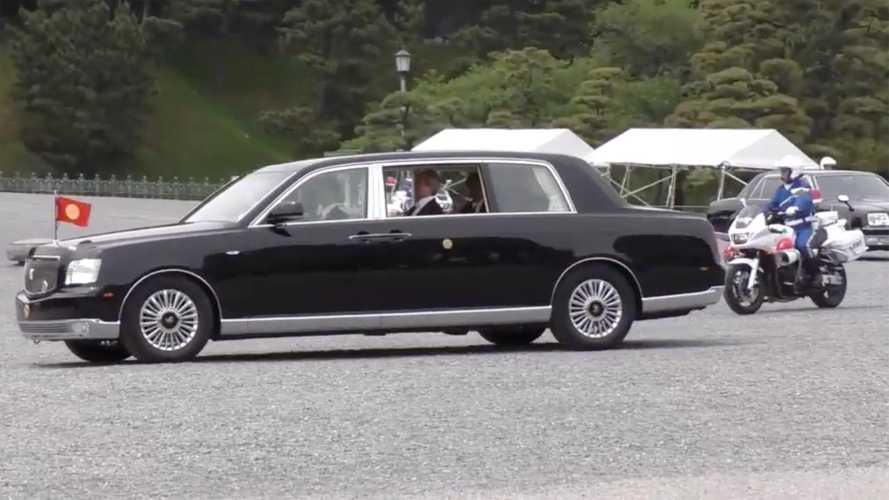 Japan's new Emperor getting unique, open-top Toyota Crown
