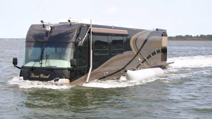 CAMI Terra Wind, la autocaravana anfibia más aventurera