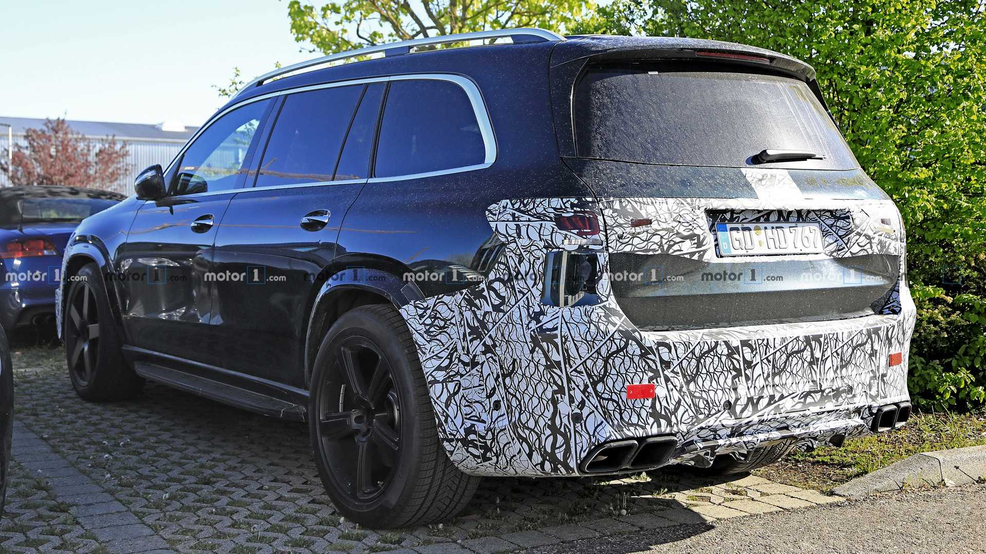 2021 Mercedes-AMG GLS 63 New Spy Photos Available >> 2021 Mercedes Amg Gls 63 Suv Spied With A Dirty Backside