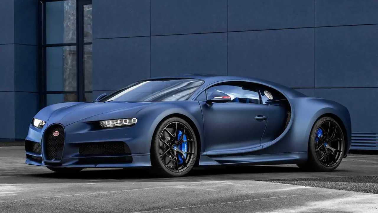 1. Bugatti Chiron Sport 110 Ans