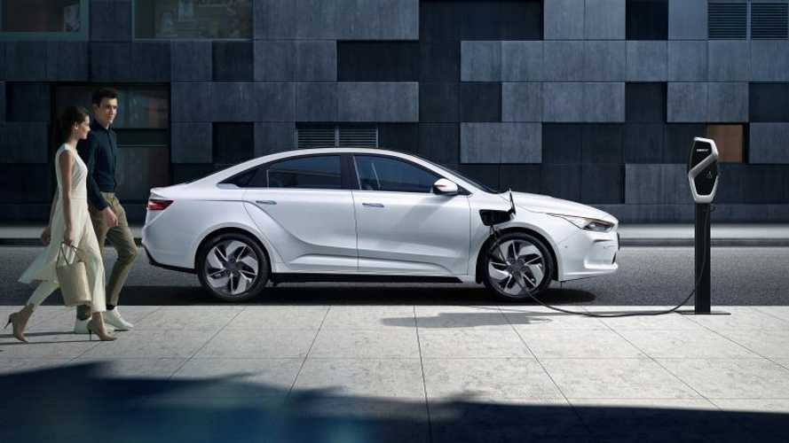 Geely Launches Geometry EV Brand With New Sedan