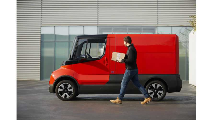 Renault Announces Experimental Last-Mile Delivery Van EZ-FLEX
