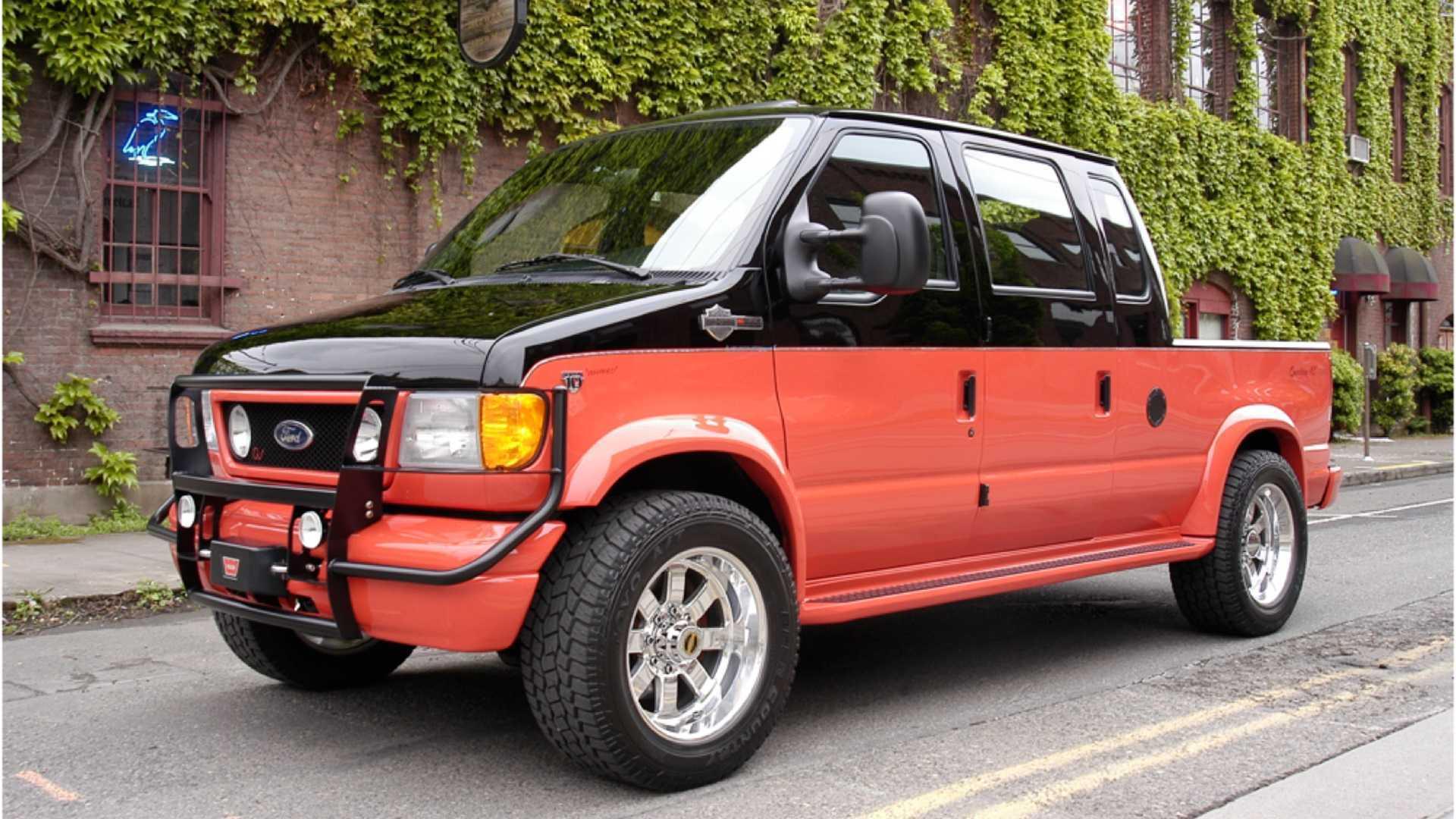 Ex-SEMA Ford E-350 Custom 4x4 Pickup Up For Grabs