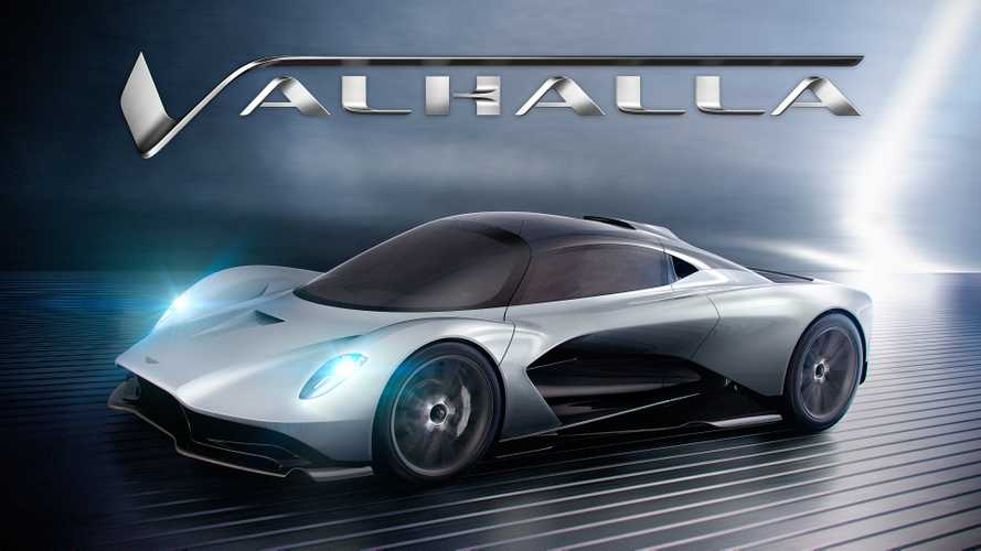Aston Martin's second mid-engined car to be called Valhalla