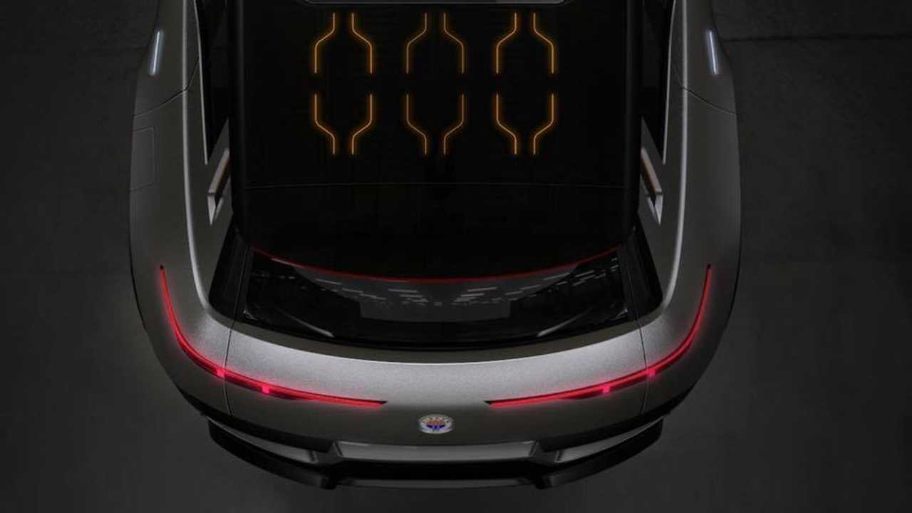 Fisker electric SUV teaser