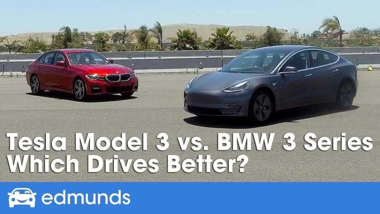 Tesla Model 3 Vs BMW 3 Series: Edmunds Asks, Which Drives ...