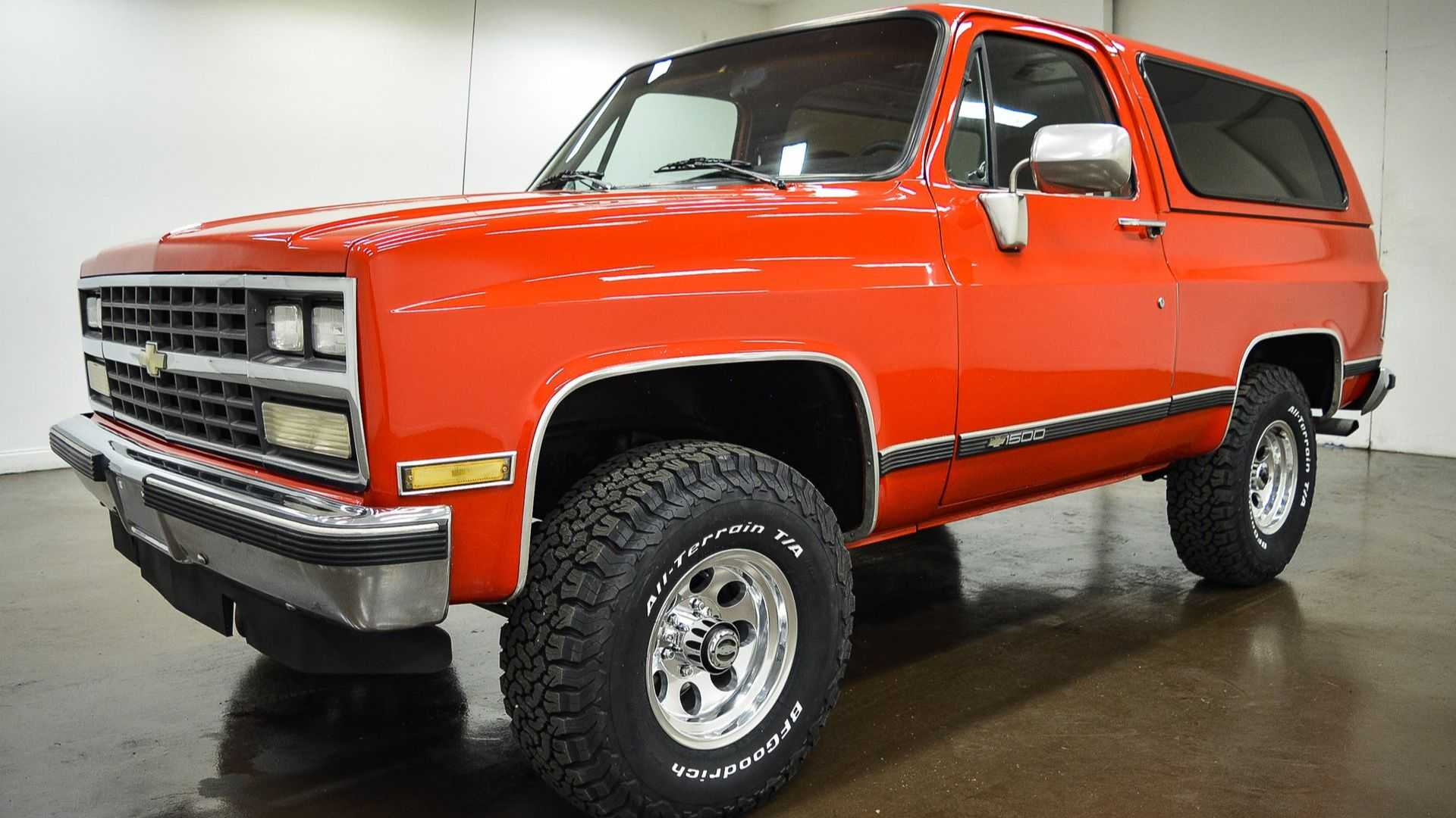 Super Clean 1989 Chevrolet Blazer Is Ready To Rumble Motorious