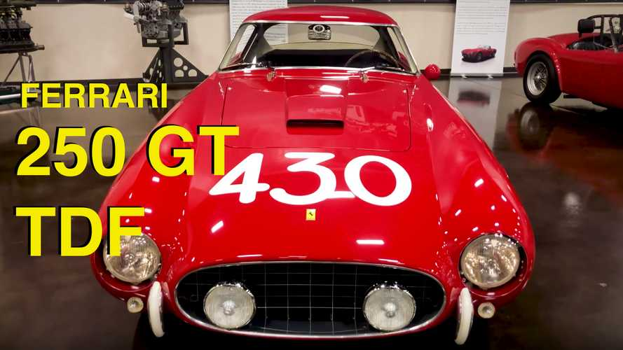 Rare Video of the Legendary Ferrari 250 GT Tour de France