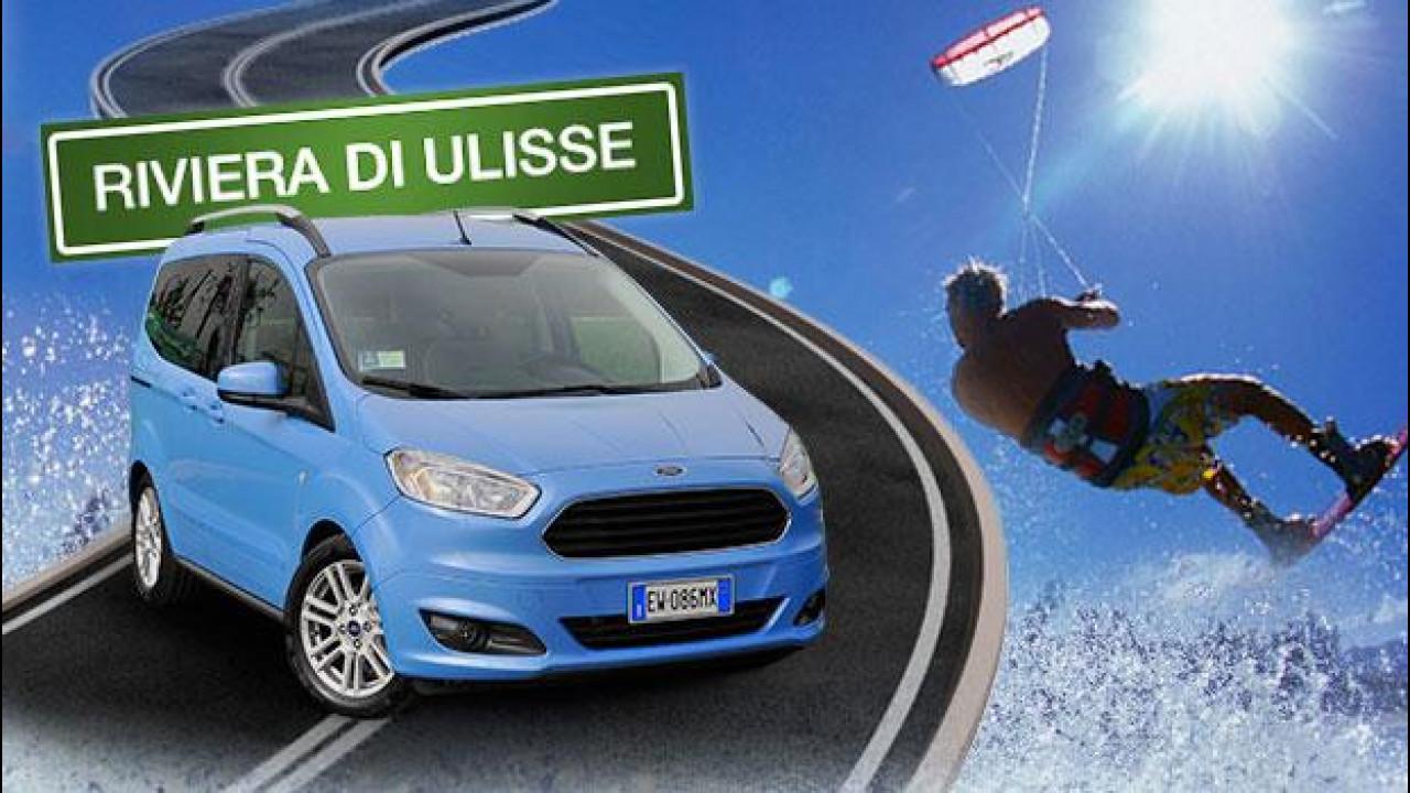 [Copertina] - In auto vi portiamo a fare kitesurf sulla Riviera di Ulisse